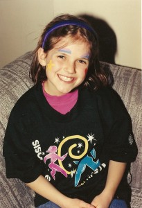 Kathleen after finishing the MS Walk in 1996
